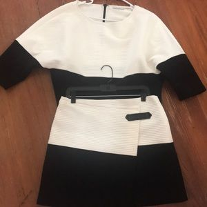 Alice Olivia top and skirt set